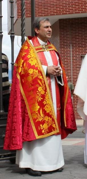El sacerdote Lucio Angel Vallejo, nacido en Villamediana, nombrado para un importante puesto en el Vaticano